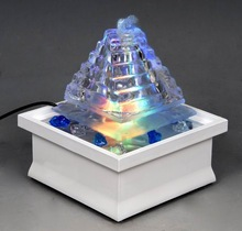 MN22075 Multicolor LED lightsTabletop Water Fountain