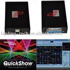 ILDA Laser software for quick show