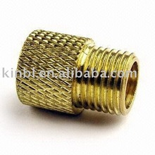 knurling parts in brass