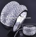 2014 silicone novo estilo anel de casamento