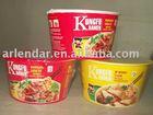 instant noodles and soups