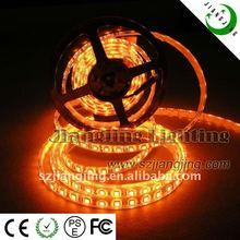 Yellow/Orange color flexible led strips light (SMD 5050 60LED/M)