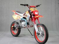 Gas-Powered 125CC Dirt Bike with Full Aluminum Wheel Frame