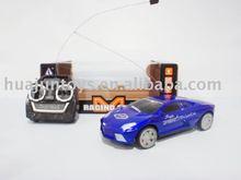 1:22 rc racing car,light/stop, plastic toys