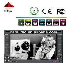 double din wireless car dvd player Vt-6207tv
