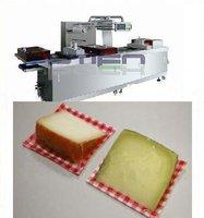 cheese portions vacuum packing machine
