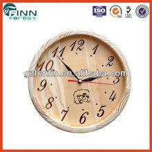 Sauna clock of wooden clock (SC-012)