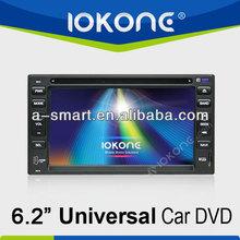 GPS navigator Touch screen 2 din universal car dvd player