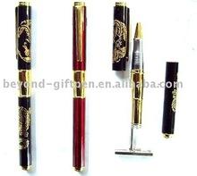 metal stamp gel ink roller ball pen
