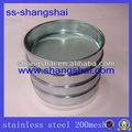 Teste padrão de aço inoxidável peneira ; vibrando peneira ; fio peneira de malha