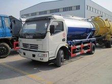 vacuum tanker,sewage cleaning truck 3000-5000L vacuum tanker used