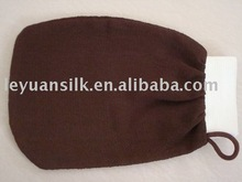 Skin Care glove towel With Elastic Cuff and Loop
