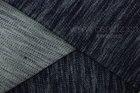 Indigo knitted denim slub twill