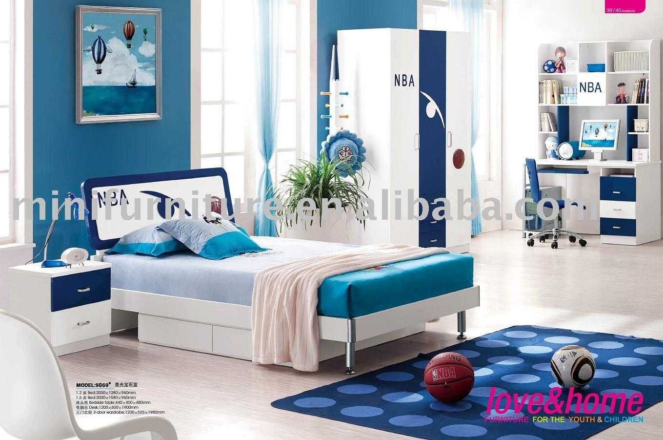 De moda los ni os modernos muebles de dormitorio conjuntos - Muebles para dormitorios de ninos ...