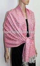sarong tenun JDC-149_1205# scarf with jacquard leopard pattern