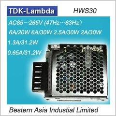Lambda 50W Switching Power Supply HWS50-15, HWS50-24
