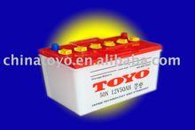 CAR 12V50AH dry battery