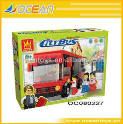 Hot Sell Building Blocks Toys City Bus Education Toys OC080227