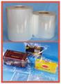 Poliolefina pof película de encogimiento plástico/poliolefina peliculasretráctiles- centerfolded/solo heridos/jumbos