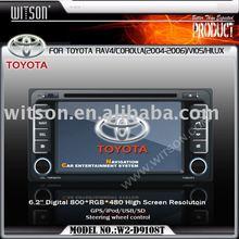 WITSON TOYOTA Old Corolla/RAV4/Vios/Terios/Land Cruiser 4500 car dvd player