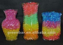Arco iris de arcilla, Cristal gel para plantación y decoración