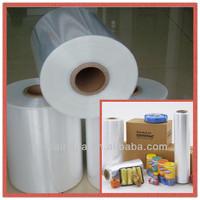 pof shrink film / polyolefin shrink film / POF plastic wrapping film