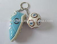 football mini shoe keychain for world cup 2014