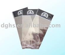 OPP header plastic bag