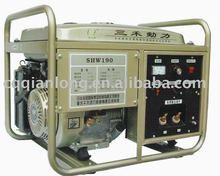 gasoline welder generator set