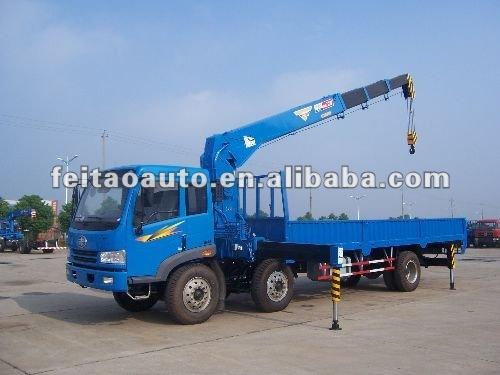 truck mounted crane (8 tons)