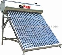 low pressure solar water heate