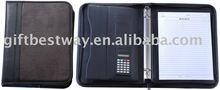 Genuine leather A4 Portfolio/Brief Case/file folder