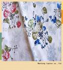 100% cotton printed poplin fabric for bedding
