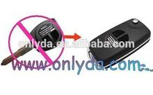 High quality suzuki flip remote key Blank wholesale