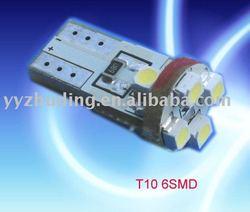 6pcs 3528smd Auto led light T10 signal vw polo tail light