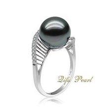 Wholesale Fine Tahitian Pearl Ring