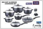 die-cast aluminum cookware set