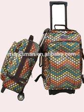 microfiber trolley carry on bag