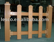 LESCO Wood Plastic Composite Fence