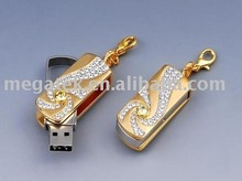 Diamond jewellery bulk 2gb USB Flash drives