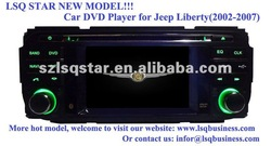 "New arrival! 4.3"" Jeep Liberty (2002-2007) CAR DVD player 3D menu GPS/Bluetooth/TV/DVD/Radio/USB/ipod/touch screen ST-5603"
