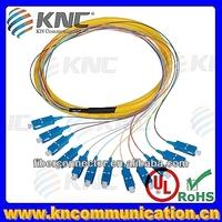 FC/SC/LC 12 core fiber optical patch cord