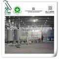 Máquina de reciclaje plástico WJ-8 de 10MT / D planta modelo pirólisis con CE