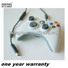 hot selling wholesale double shock wired game Controller for Xbox360 console joystick