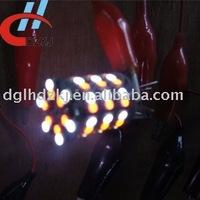 60 smd 3528 3156/3157 auto led turning amber white