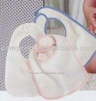 100 cotton interlock fabric baby bib