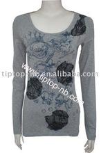 2012 ladies fashion t-shirt