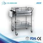 Stainless steel dressing cart