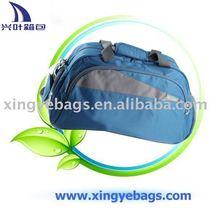 2012 cheap blue 420D foldable polyester travel bag duffel bag (XY-T435)