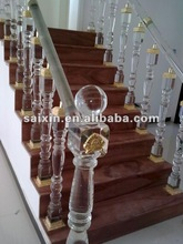 crystal stairs and armrest for home decoraton and hotel adornment